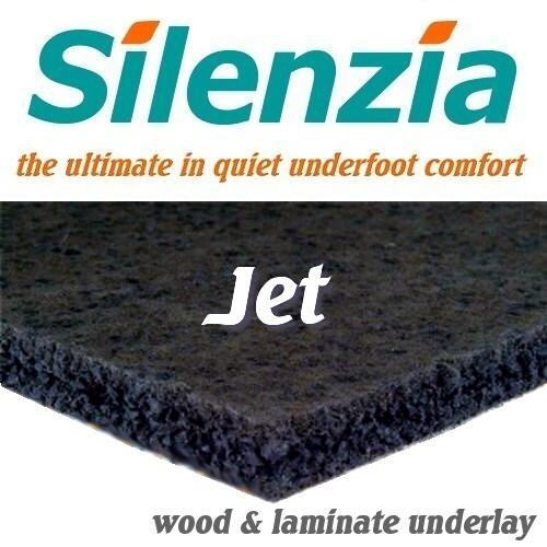 Silenzia jet laminate wood underlay for 8mm wood floor underlay