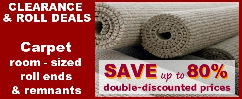 carpets room sized roll ends and remnants up to 80 off