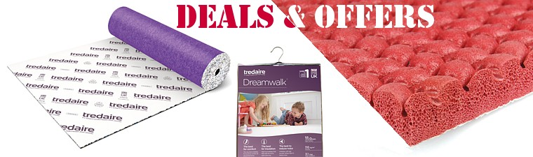 cheap carpet underlay deals